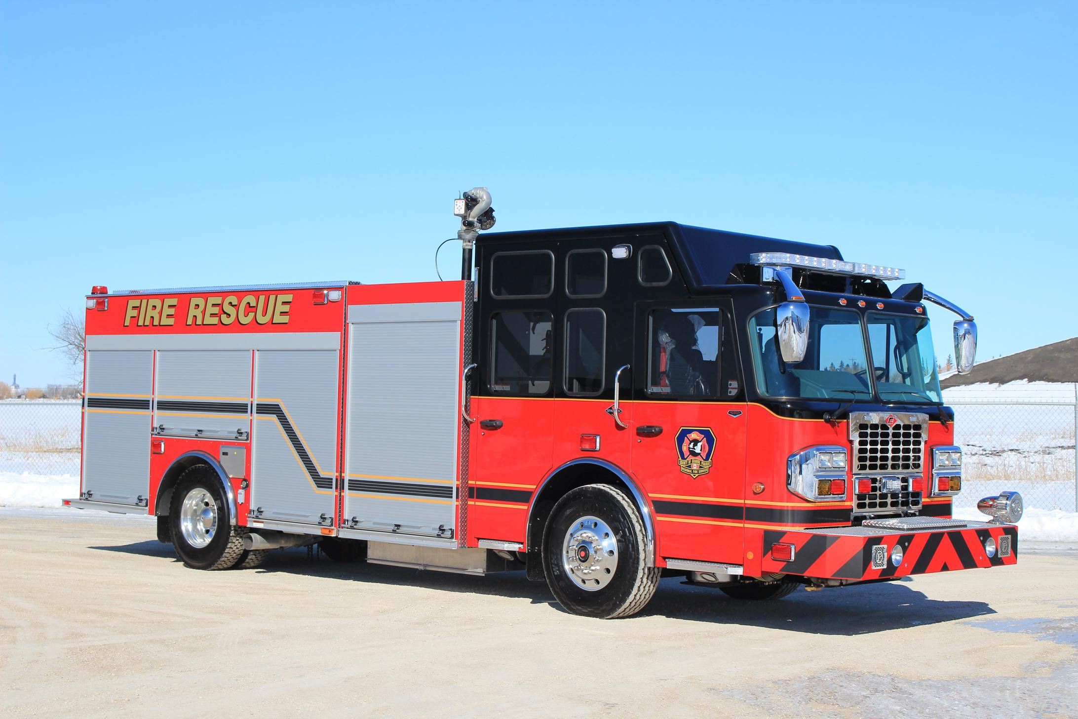 COUNTY OF GRANDE PRAIRIE   Fort Garry Fire Trucks - Fire ...