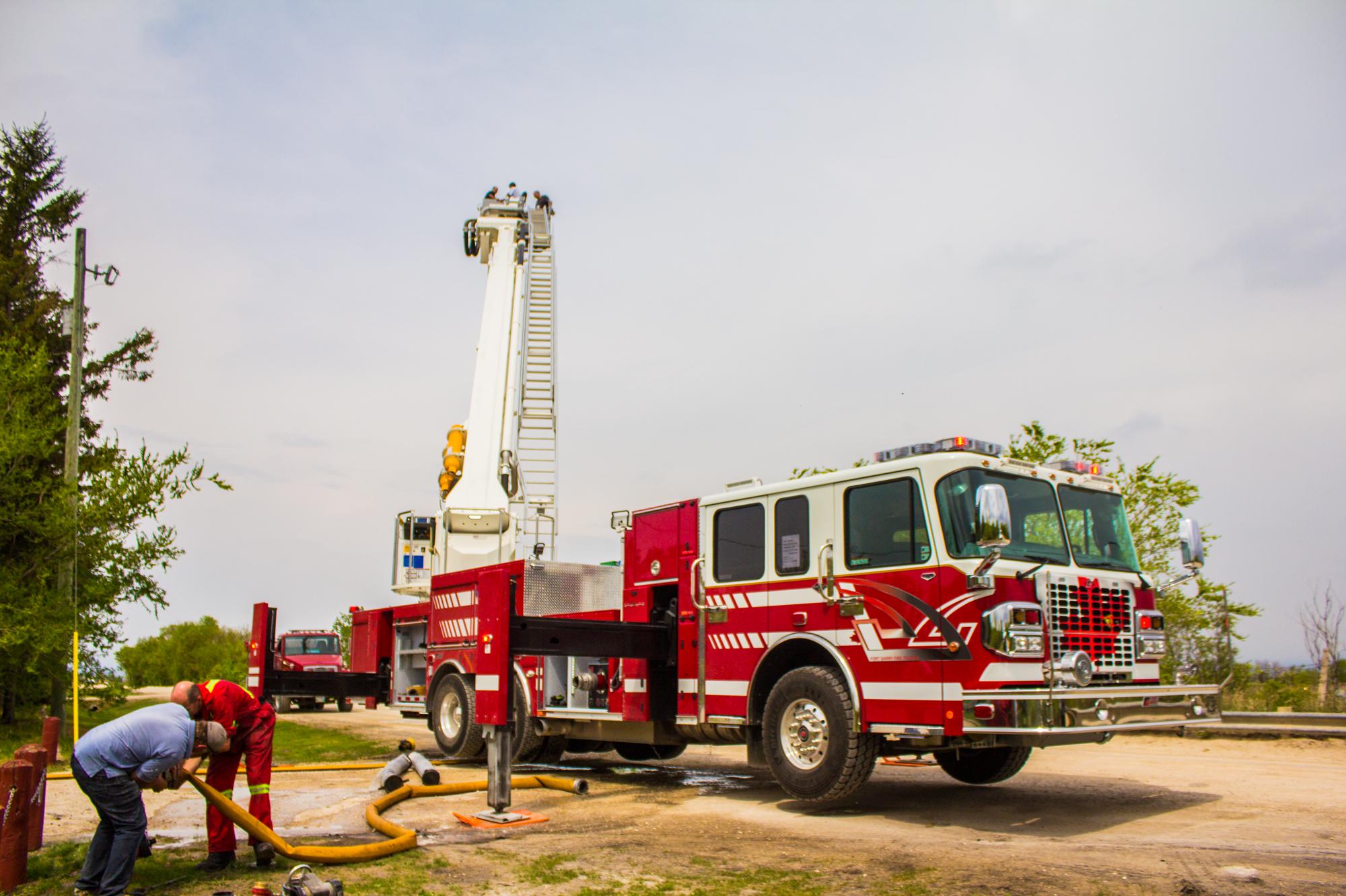 Bronto Skylift F 116RLP+ Demo Unit Testing | Fort Garry Fire