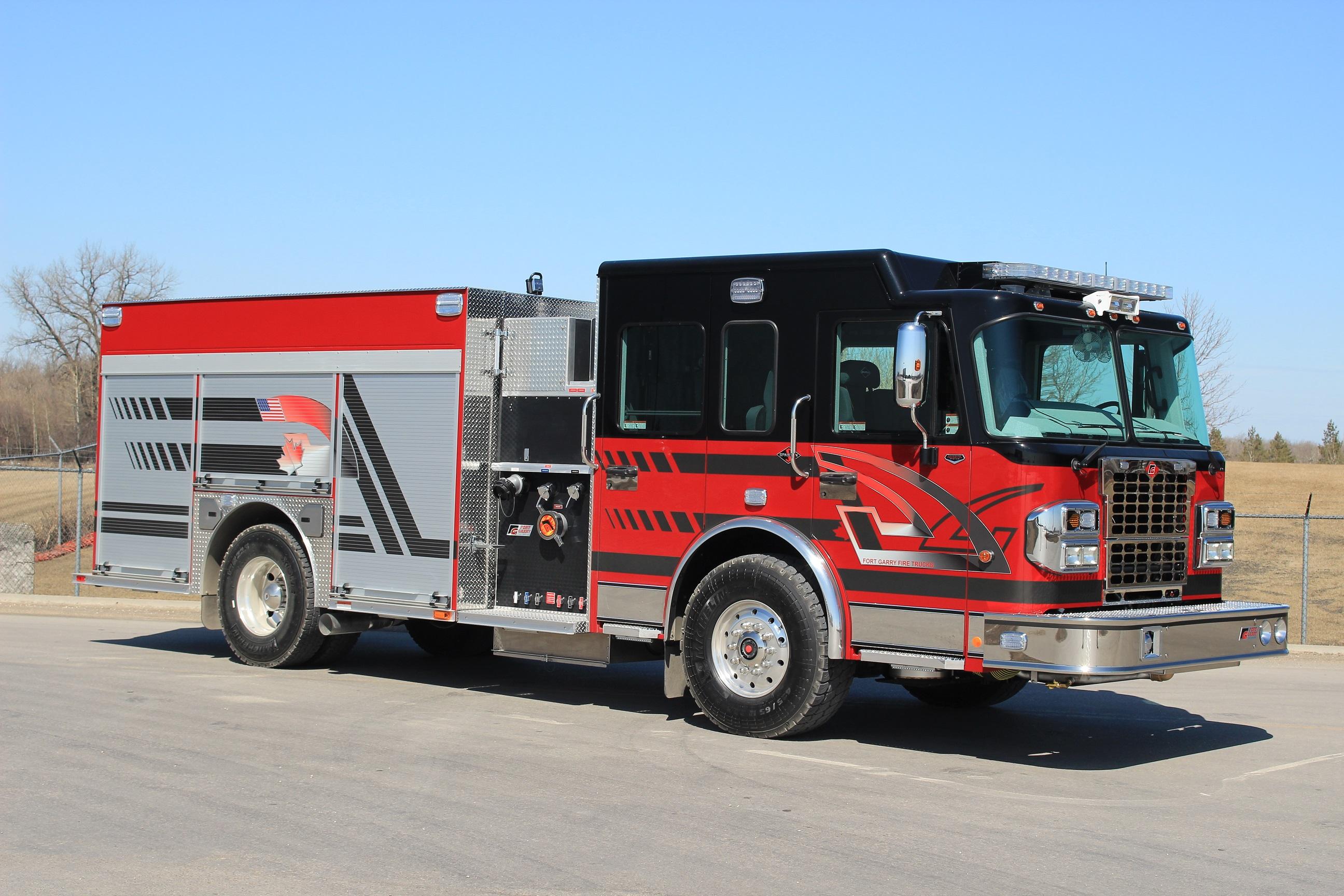 Standard Models | Fort Garry Fire Trucks - Fire & Rescue